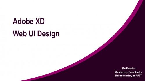 Web UI Design using Adobe XD in 5 minutes (Speed Design)